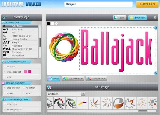logotype-maker-interface