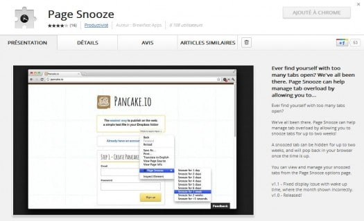 page-snooze