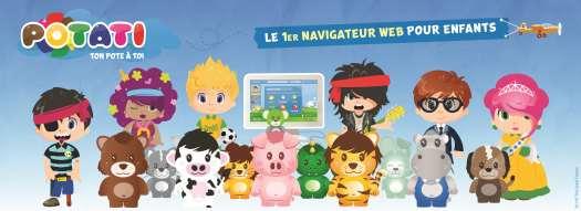 Potati, un navigateur Web sécurisé pour les enfants
