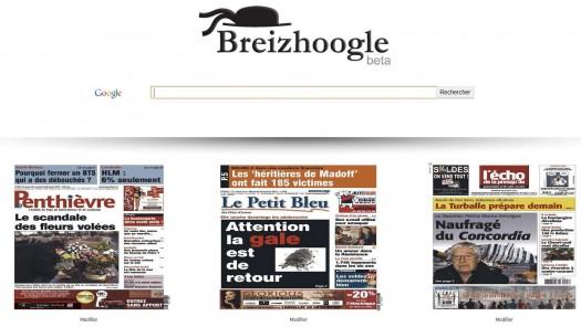 Les unes des journaux et hebdomadaires bretons