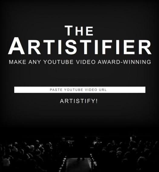 Les vidéos YouTube réalisées comme The Artist