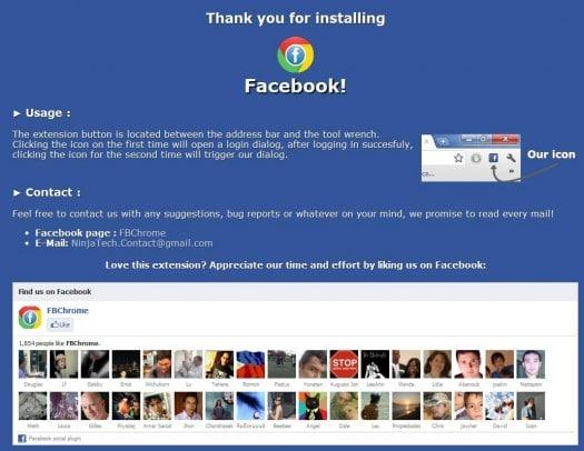 chrome-facebook
