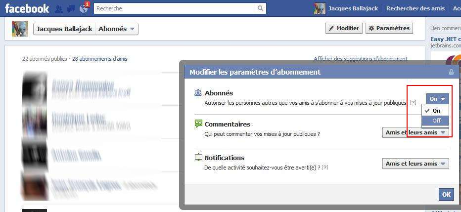 Comment Emp  Cher Les Abonnements Sur Son Profil Facebook