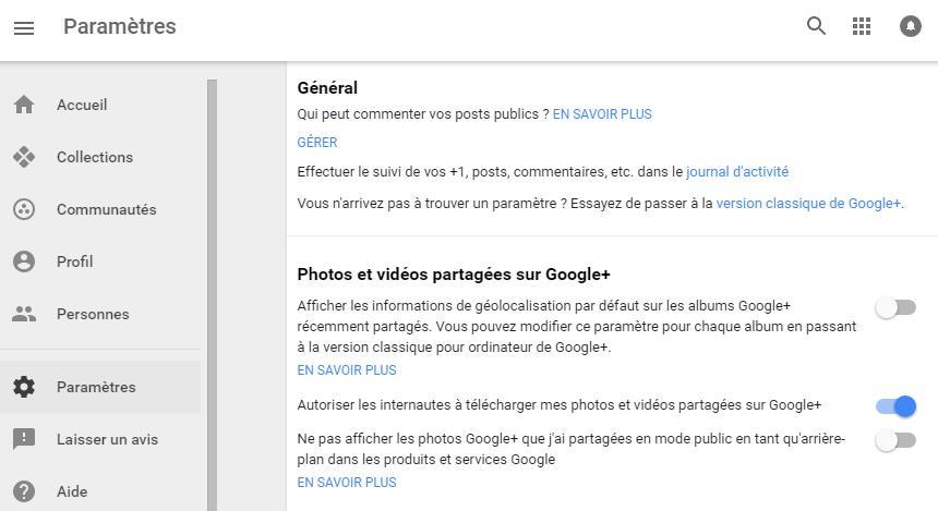 google+-gerer