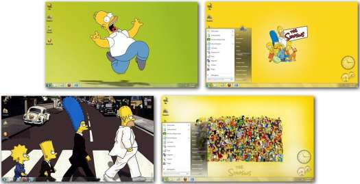 simpsons-windows7-theme