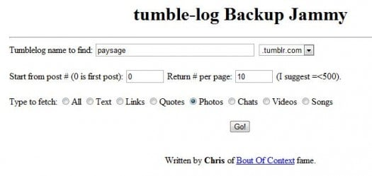 tumble-log-backup