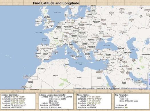 trouver-latitude-longitude