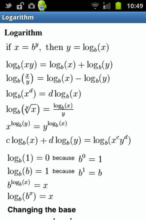 formules-Logarithmes
