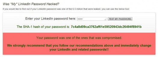 Votre mot de passe LinkedIn a t-il été volé ?
