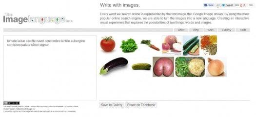 Des images pour remplacer les mots, The Image Language
