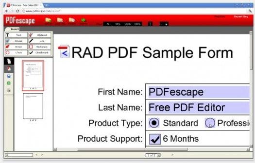 Extension Chrome pour éditer et modifier des documents PDF