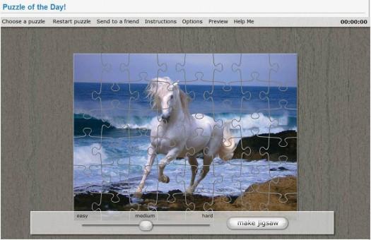 Un puzzle par jour dans Chrome, Puzzle Warehouse