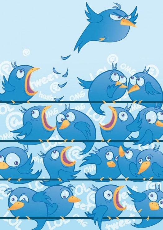 Twitter-oiseaux