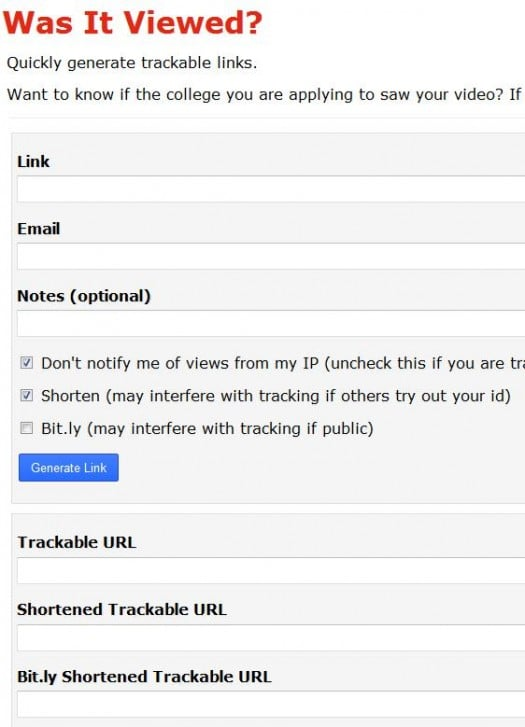 tracking-page-web