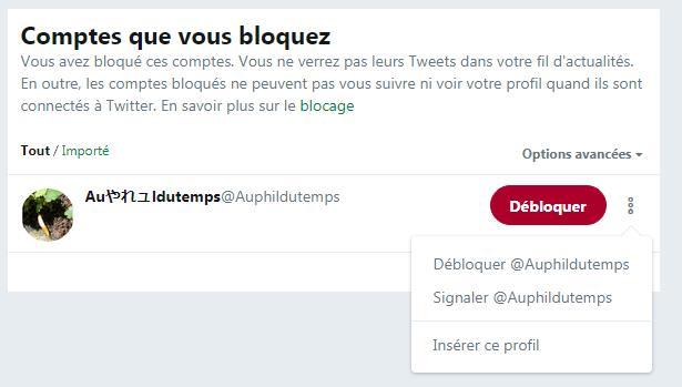 Blocage Déblocage Dun Utilisateur Twitter Et Conséquences