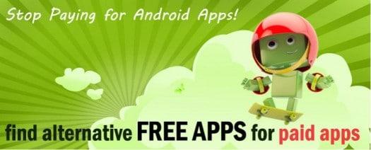 alternatives gratuites aux applications android payantes les infos de ballajack. Black Bedroom Furniture Sets. Home Design Ideas