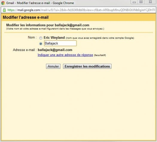 comment modifier le nom de l u0026 39 exp u00e9diteur dans gmail