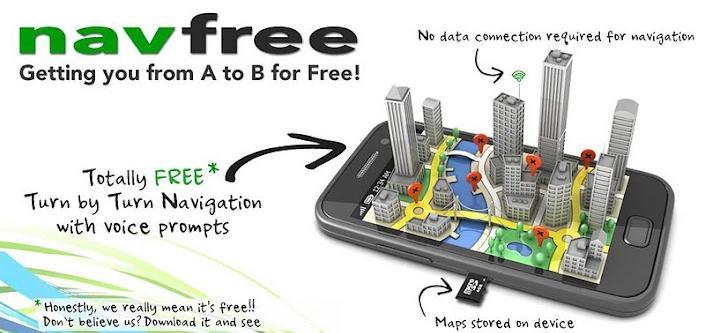 un programme gps gratuit pour android navfree