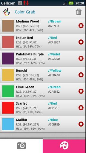 reconna tre les couleurs avec un t l phone android les infos de ballajack. Black Bedroom Furniture Sets. Home Design Ideas