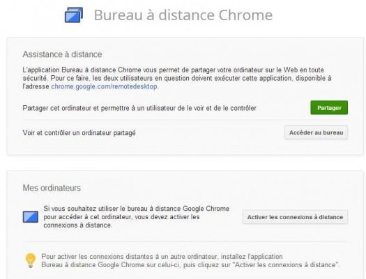 Bureau distance chrome version finale - Bureau a distance google chrome ...