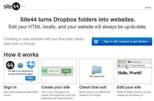 dropbox-site-web