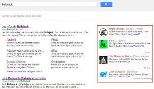 afficher-tweet-google
