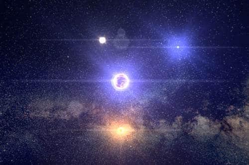 Partir en voyage dans les étoiles, 100 000 Stars