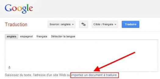 google-traduction-document