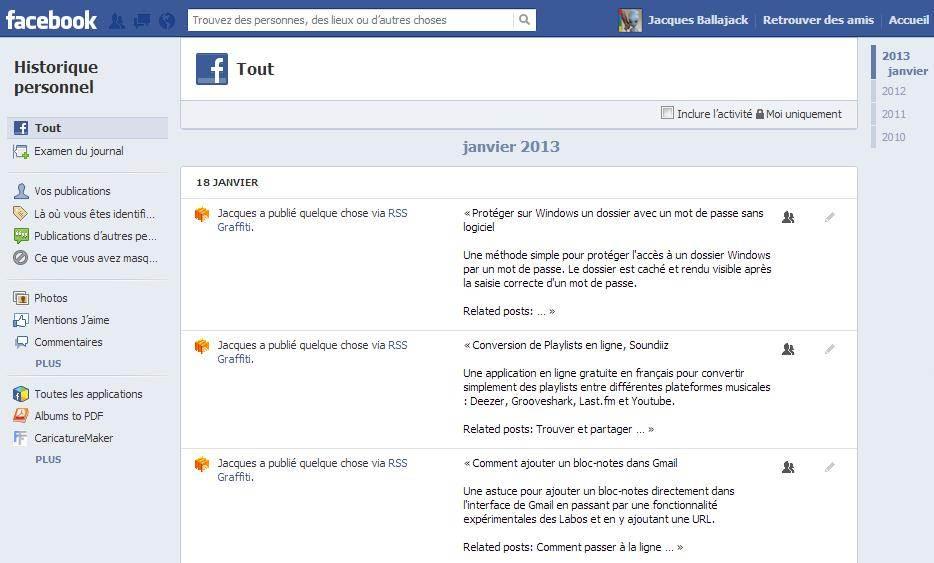comment afficher une relation sur facebook