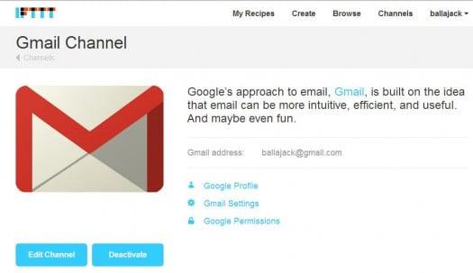 gmail-bot-ifttt