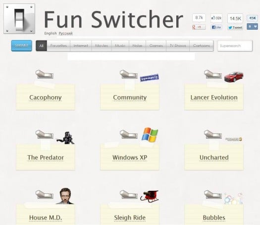 Effets sonores en tout genre, Fun Switcher