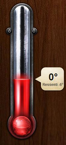 Connaître la température extérieure sans sortir de chez soi