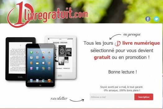 Un ebook gratuit ou en promotion par jour