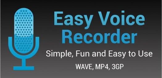 Un magnétophone pour Android, Easy Voice Recorder | Ballajack