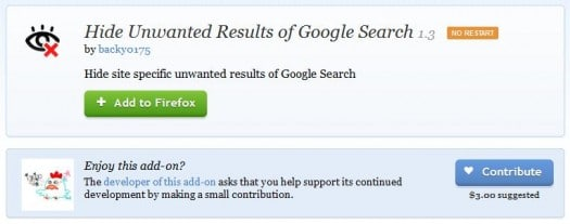 firefox-exclusion-site-google