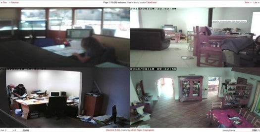 Des Webcams en libre accès, Cryptogasm