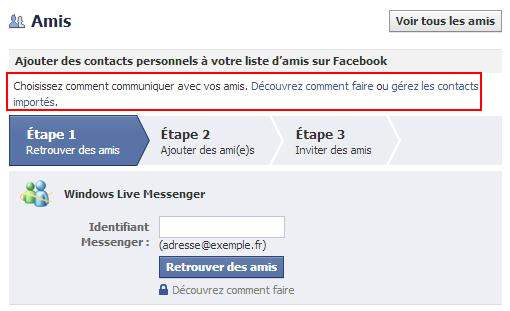 facebook-contacts-importes