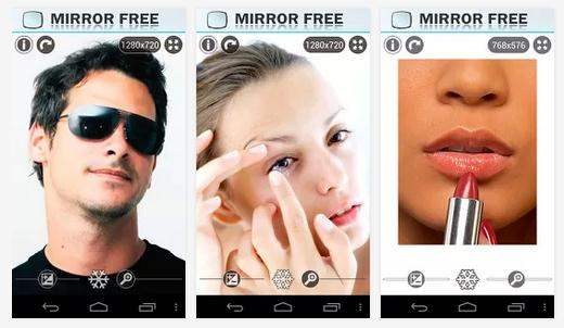 Transformer son téléphone Android en miroir, Mirror