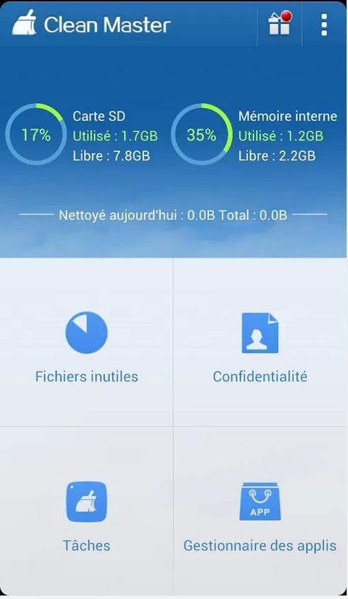 android-nettoyage-systeme