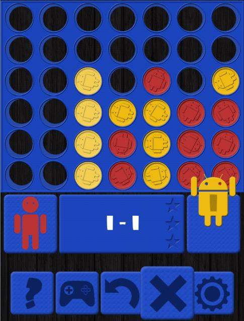 Grand classique du jeu de réflexion sur Android, Puissance 4