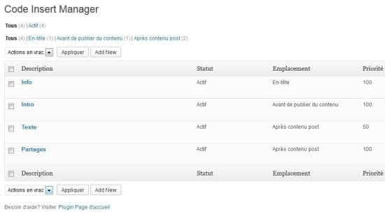 wordpress-code-insert-manager