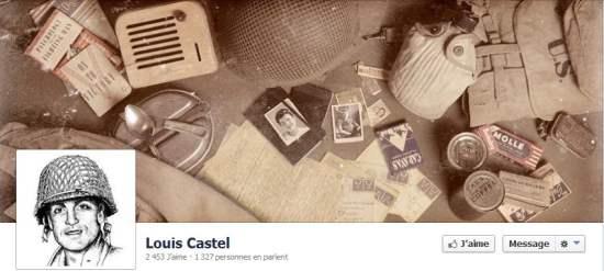 Louis Castel débarque en Normandie 70 ans plus tard