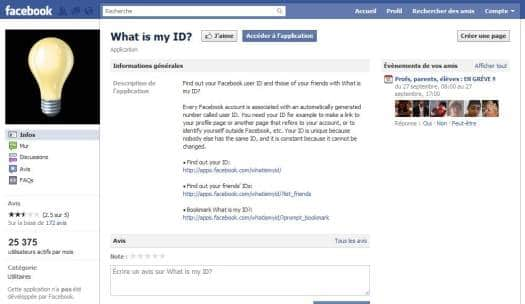 Comment trouver son identifiant Facebook, What is my ID