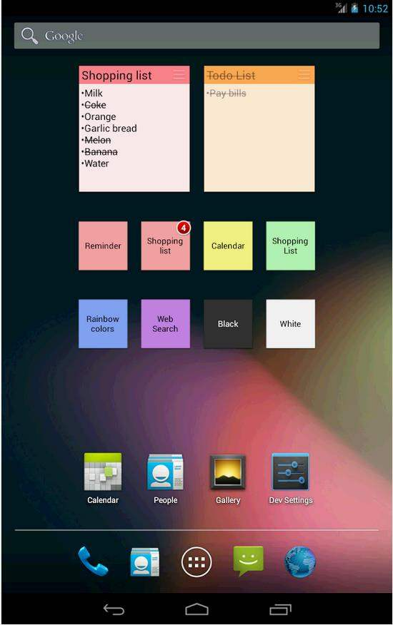 Un superbe programme de notes pour Android, ColorNote