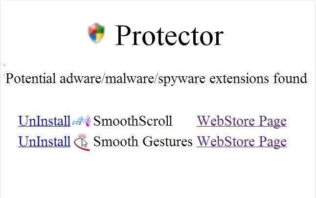 Extension Chrome pour se protéger des autres extensions