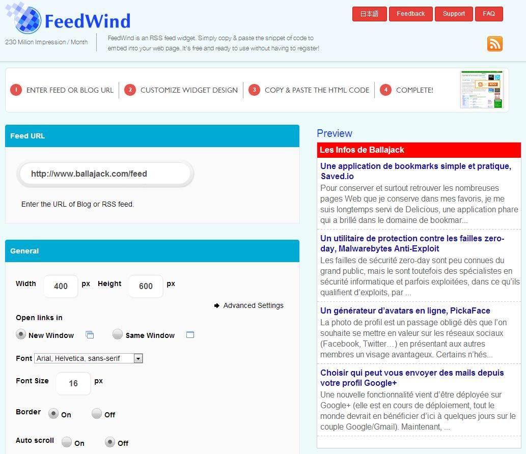 feedwind-rss