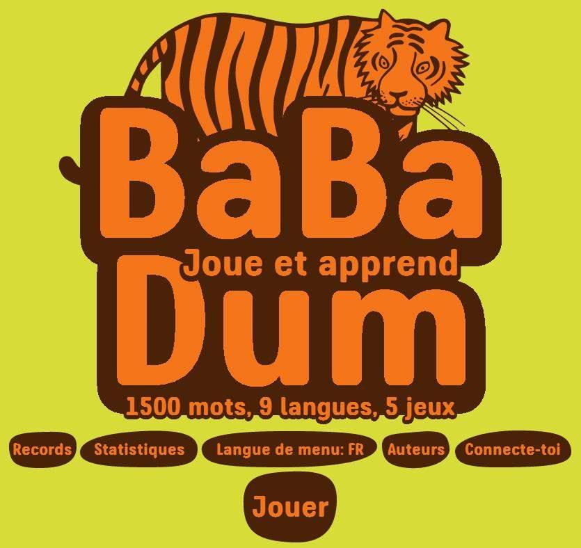 Apprendre les langues en s'amusant, Babadum