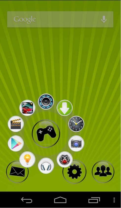 Un élégant lanceur d'applications pour Android