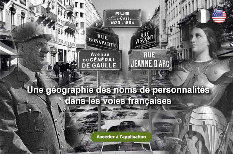 Cartographie des rues en France, PatronyMap