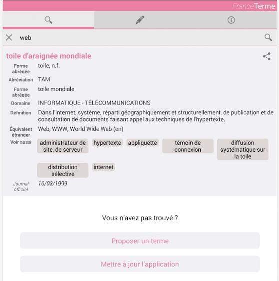 Comment le dire en français ? France Terme
